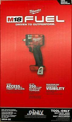 Milwaukee 2854-20 M18 FUEL 3/8 Compact Impact Wrench Brushless Cordless 18V NEW