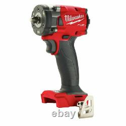 Milwaukee 2854-20 M18 FUEL 3/8 Compact Impact Wrench with Friction Ring