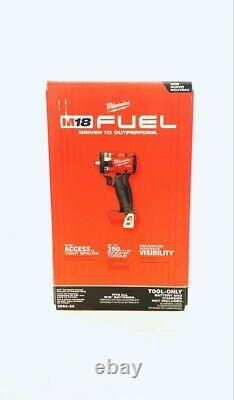 Milwaukee 2854-20 M18 FUEL Li-Ion BL 3/8 in. Impact Wrench (Tool Only) New