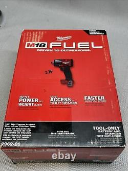 Milwaukee 2962-20 1/2 Mid-Torque Impact Wrench With Friction Ring, Tool Only, New