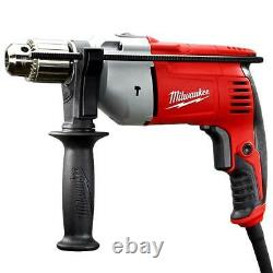 Milwaukee 5376-20 120V 1/2-Inch Hammer Drill with Side Handle