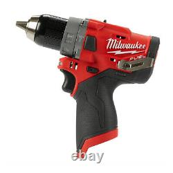 Milwaukee M12FPD 12V Cordless Fuel Percussion Combi Drill With Case