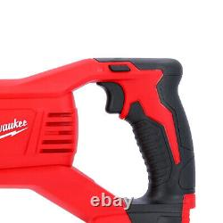 Milwaukee M18BSX M18 18V Heavy Duty Reciprocating Saw With 10 Piece Saw Blade