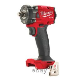 Milwaukee M18FIW2F38-0X 18V Friction Ring Compact 3/8 Impact Wrench 4933478650