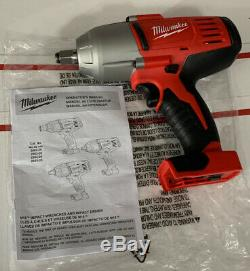 Milwaukee M18 1/2 in. Li-Ion High Torque Impact Wrench Kit 2663 -20 New