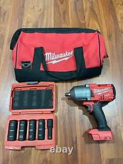 Milwaukee M18 FUEL Brushless Cordless 1/2 in. Impact Wrench Used