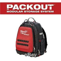 Milwaukee PACKOUT Backpack Tool Tote Soft Box Ballistic Extra Heavy Duty Carrier