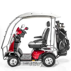 NEW King Cobra PGV Executive ULTRA HEAVY DUTY Mobility Scooter with Full Canopy