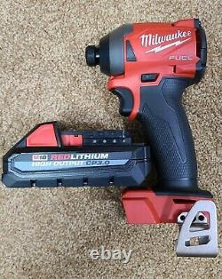NEW Milwaukee M18 2853-20 FUEL Impact Driver 1/4 Hex HIGH OUTPUT 3.0 Ah Battery