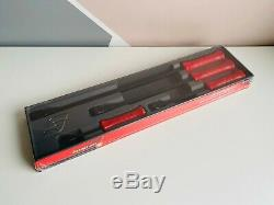 NEW Snap On 4-pc Red Striking Prybar Set SPBS704AR