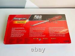 NEW Snap On 7-pc 100th Year Edition Red Combination Screwdriver Set SDDX70AMR