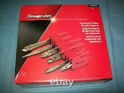 NEW Snap-on 6-pc HeavyDuty Pliers Set PL600ES2PK Red Sealed