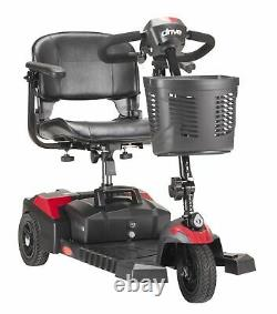 NEW Spitfire Scout 3 Wheel Mobility Scooter, Compact, Red & Blue, Lightweight