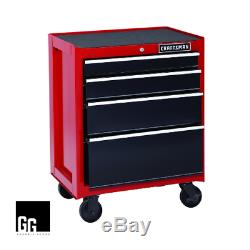 New Craftsman 13-Drawer Heavy-Duty Ball Bearing 3-PC Tool Chest Combo Red/Black