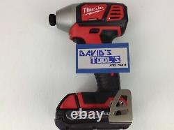 New Milwaukee 2656-20 Lithium-Ion 1/4 in Hex Impact Driver 48-11-1815 Battery
