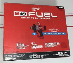New Milwaukee M18 Fuel 1 High Torque Impact Wrench 2867-20 (bare Tool)