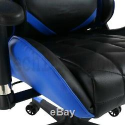 Office Chair Executive Racing Gaming Computer Desk Swivel Chair Recliner Leather