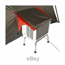 Ozark Trail 16x16 Instant Cabin Tent Sleeps 12 Brown, Red