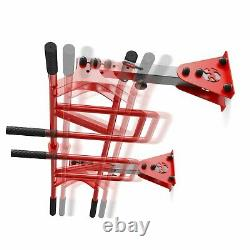 PULL UP BAR MULTI GRIP CEILING WALL MOUNTED HEAVY DUTY CHIN UP 200kg UK STOCK
