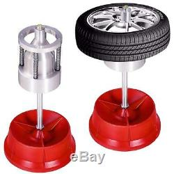 Pro Portable Hubs Wheel Balancer With Bubble Level Heavy Duty Rim Tire Cars Truck