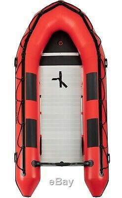 Quicksilver 420 Heavy Duty Inflatable Boat (Red) & Mariner 15hp F15ML Outboard