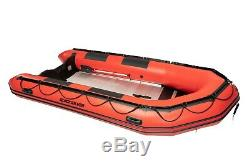 Quicksilver 420 Sport HD PVC Red Heavy Duty Dinghy 4.2m Inflatable Boat NEW