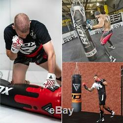RDX Punch Bag Heavy Duty KickBoxing Set Punching Hanging Bags Gloves & Chains