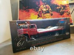 Rare 1975 Heavy-Duty Flatbed RED Chevy C65 116 Highway 61 HARD TO FIND NICE