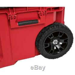 Rolling Tool Box Heavy Duty Latches Metal reinforced corners Durable Sturdy