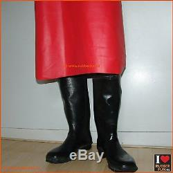 Rubber apron clinical red rubber natural rubber heavy duty 110 x 60 cm