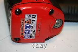 SNAP-ON TOOLS 1/2 Drive Heavy-Duty Magnesium Impact Wrench MG725 WITH RED BOOT