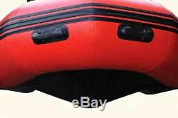 Seapro Heavy Duty 310HD Aluminum Floor Inflatable Dinghy 310cm Red/White Boat