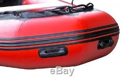 Seapro Heavy Duty Inflatable Boat 310cm (3.1m) Red (NEW)