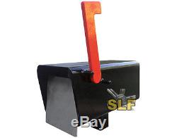 Slf Indestructible Mailbox Mail Box Bomb-proof Bomb Proof Heavy Duty Hd Post New