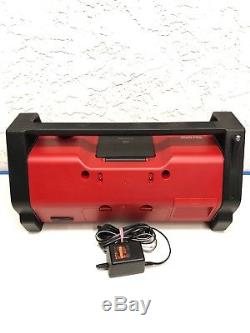 Sony ZS-H10CP Heavy Duty Portable CD Stereo Boombox Ghetto Blaster Radio Aux In