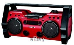 Sony ZS-H10CP Portable Heavy Duty CD Radio Boombox Speaker System