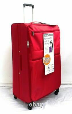 Super Lightweight 4 wheel Spinner Trolley Set Of 3 Luggage Suitcases Cabin Bag