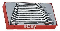Teng Tools TT1236 12 Piece Combination Spanner Wrench Set In Case