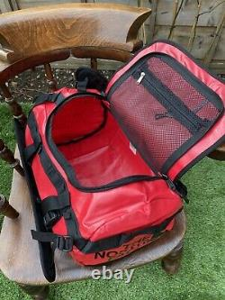 The North Face Base Camp Duffel Onesize Red Brand New With Tags