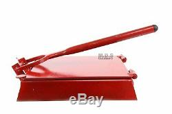 Tortilla Press 9.5 Red Heavy Duty Iron Restaurant Commercial Authentic