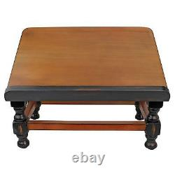 Traditional Solid Wood Tabletop Book Stand Accent Vintage Heavy Duty Cherry Gift