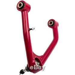Tubular Control Arms Front Upper for Chevrolet Silverado 1500 New Body 07-15 Red